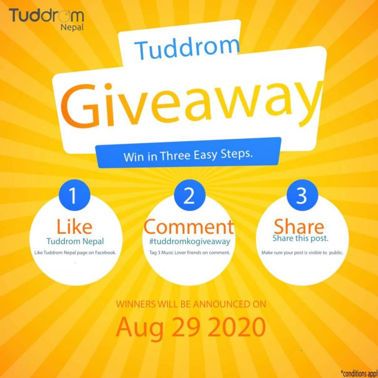 Read more about the article Earphone giveaway by Tuddrom Nepal