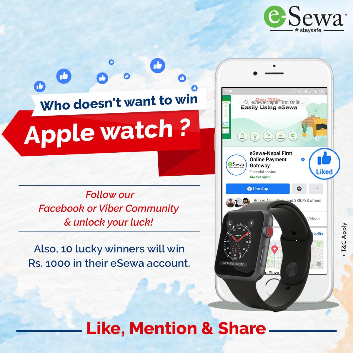 esewa i watch nepali coupons