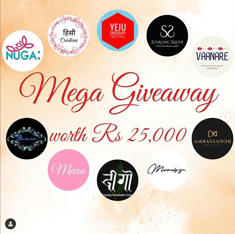Mega Collaborated Giveaway