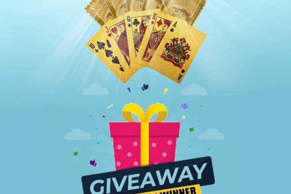 Gold Plated Cards Giveaway