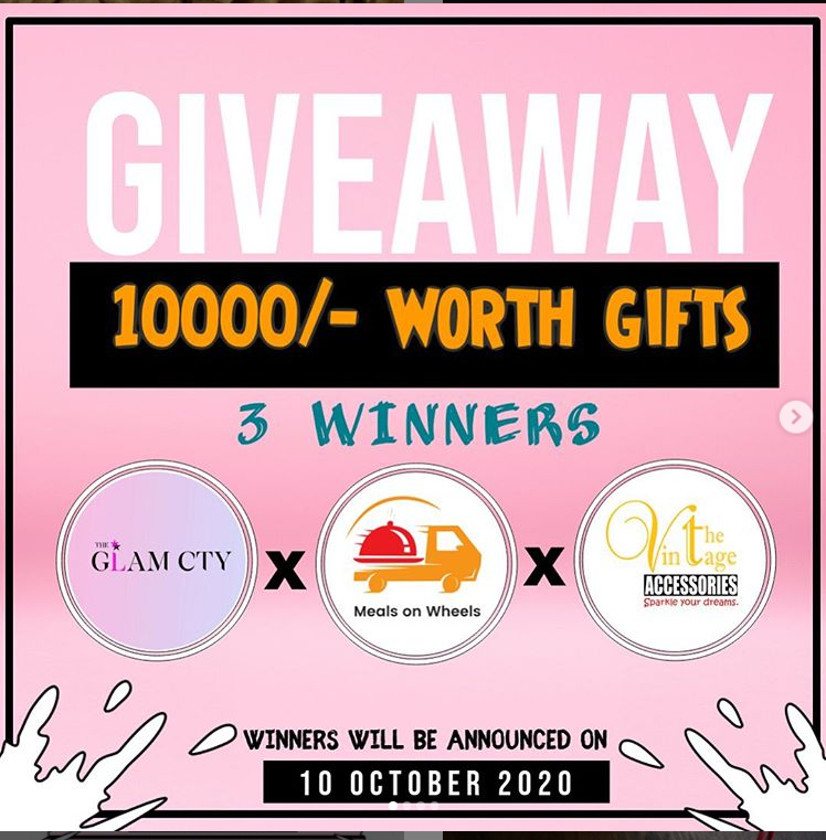 10000 worth of giveaway to 3 winners