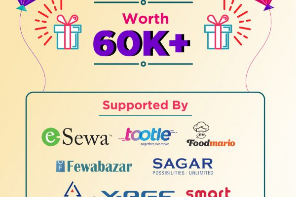 Techsathi Mega Dashain Giveaway | Giveaway Worth Rs60000