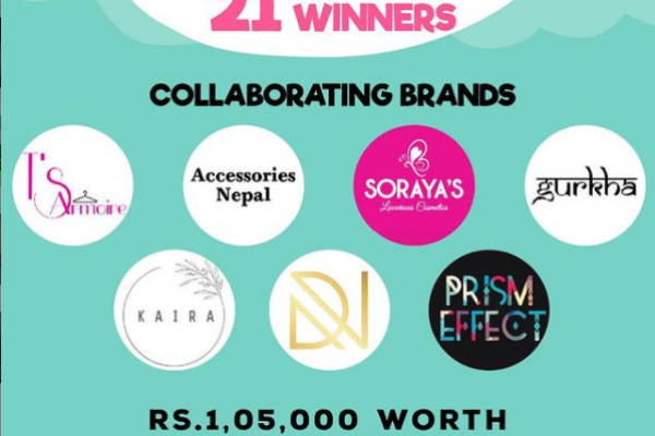 1 Lakh+ worth of giveaway by various brands