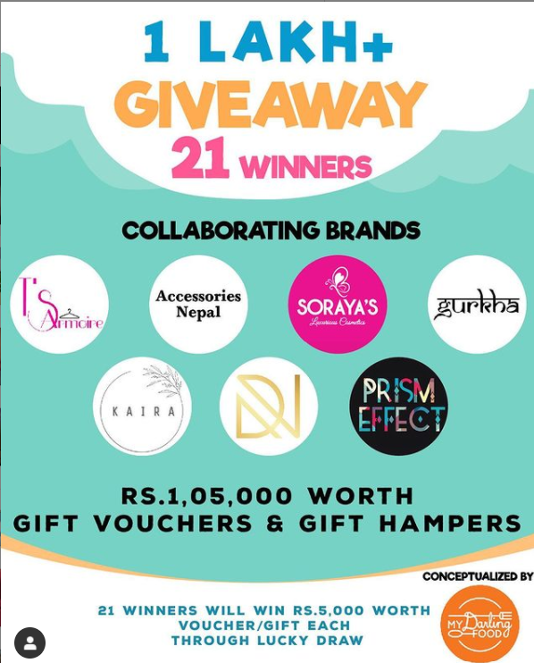 1 lakh giveaway nepali coupons