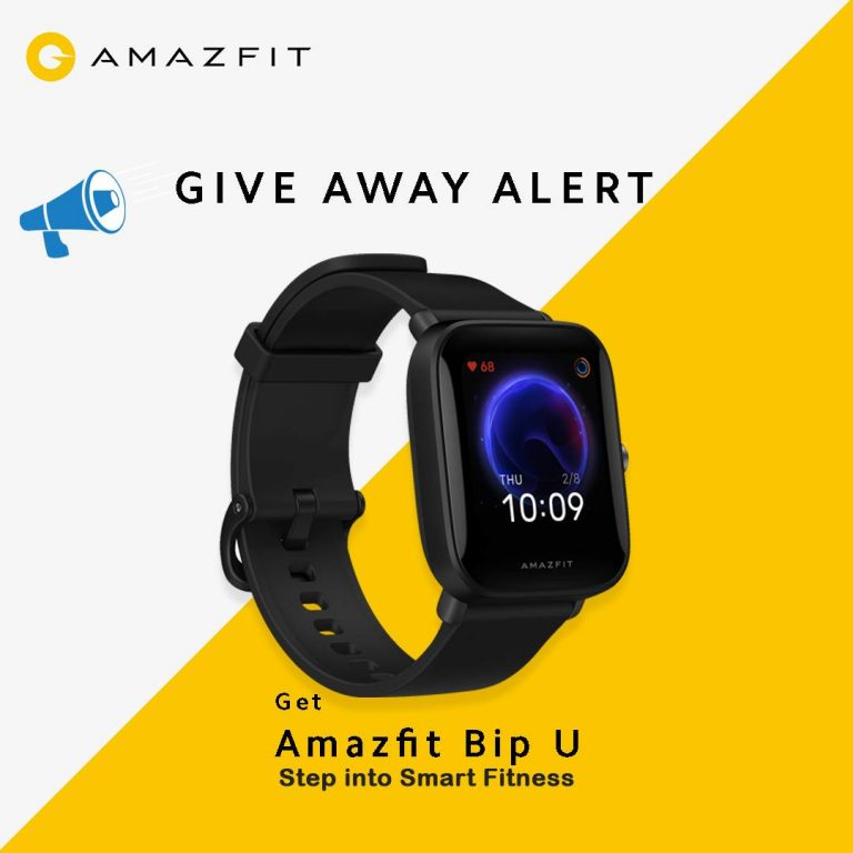 Read more about the article Amazefit Bip U Giveaway | Nepali Coupons