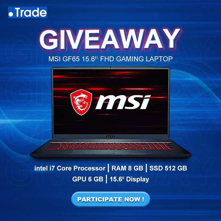 Read more about the article MSI Gaming Laptop Giveaway for two lucky winnners