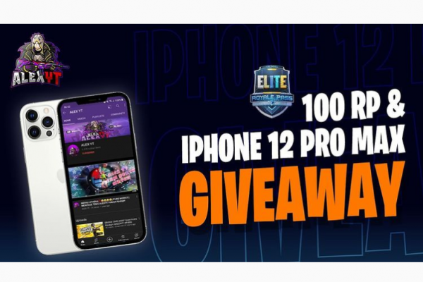 PUBG 100 RP and Iphone 12 giveaway