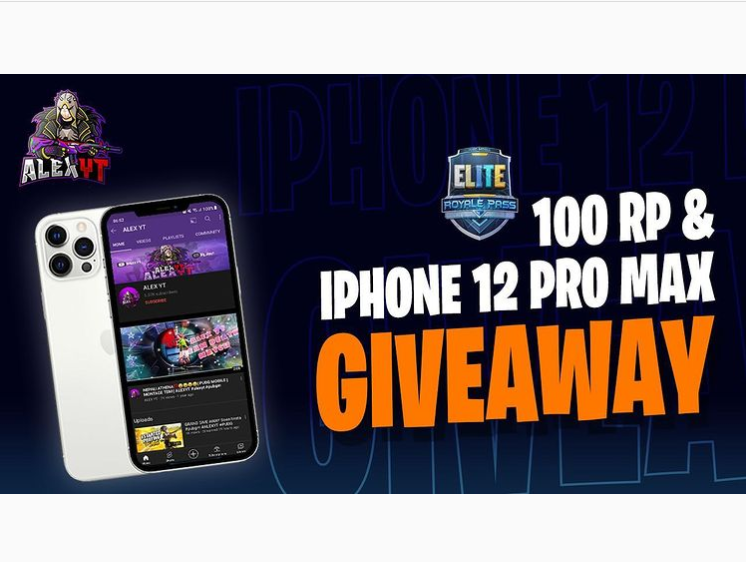 Read more about the article PUBG 100 RP and Iphone 12 giveaway