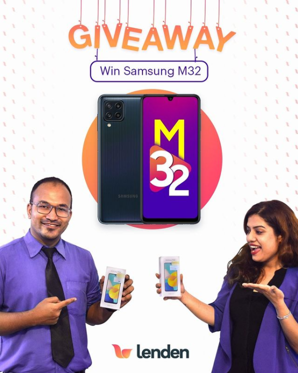 Read more about the article Lenden Samsung Galaxy M32 Giveaway